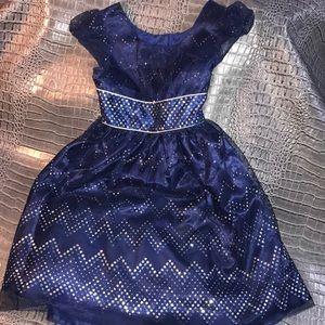 Jona Michelle Blue Dress size 7